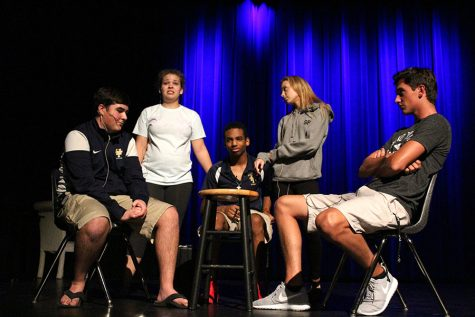 HT acting troop receives superior at district competition