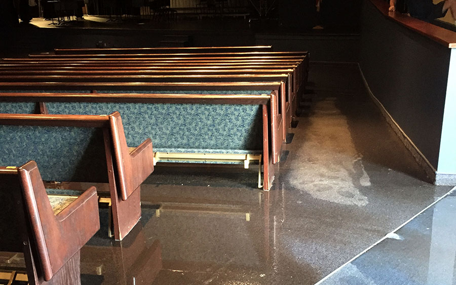 The+Aqua+house+is+under+investigation+for+the+auditorium+flood.