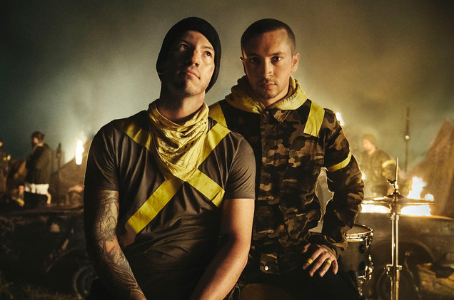 Drummer, Josh Dun and Singer, Tyler Joseph make up the band Twenty-One Pilots.
