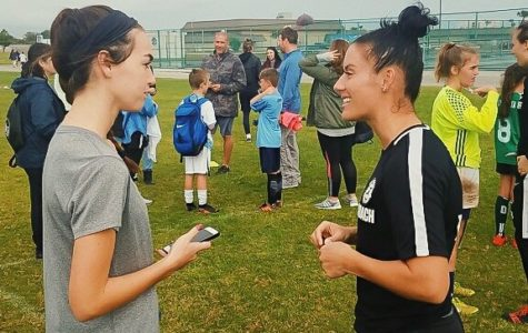 Krieger Impacts Athletes in Brevard