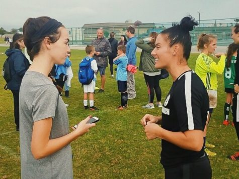 Sports Editor Julia McCarthy talks with USWNT star Ali Krieger in Indialantic.