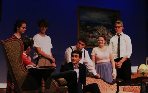 The Advanced Acting class put on a production of You Can't Take It With You last week. This show was not the first instance where drama students were forced to censor language or content.
