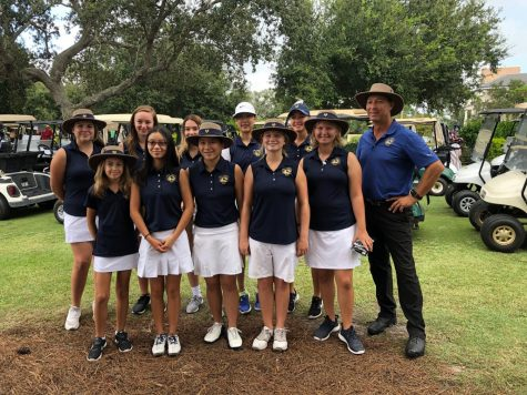 The Holy Trinity Girls Golf Team has had to adjust to new regulations for the 2020 High School golf season.