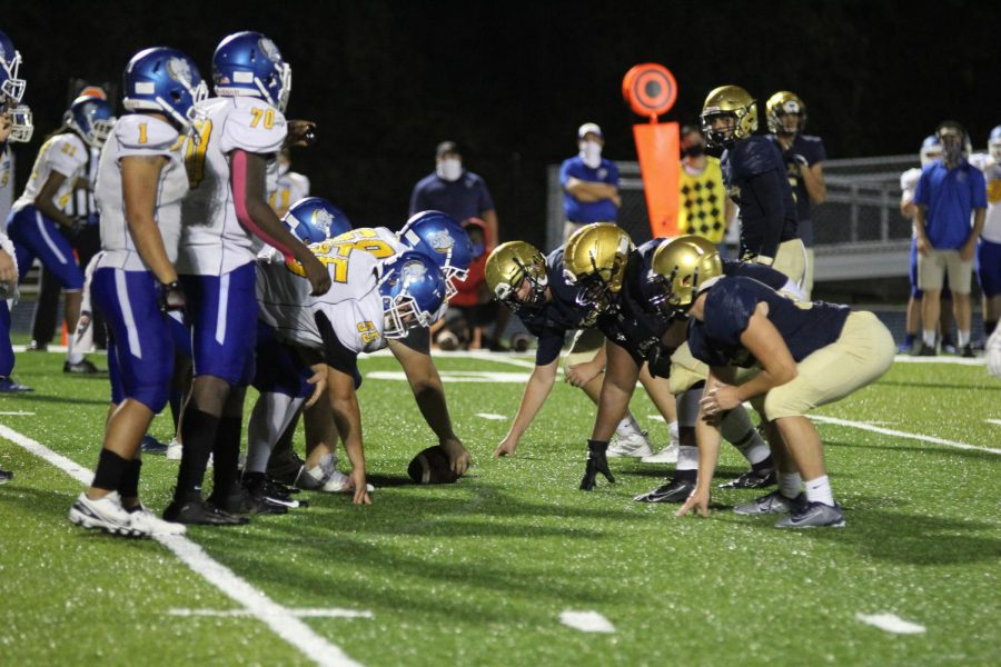 Tigers Football Defeats Terriers at Homecoming