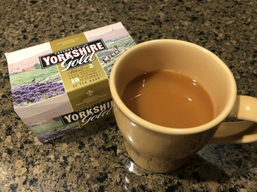 The+preferred+tea+when+making+the+practically+perfect+cup+is+Taylors+of+Harrogate+Yorkshire+Gold.